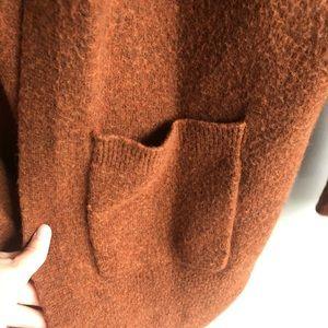 Madewell Sweaters - Madewell Kent Rust Cardigan